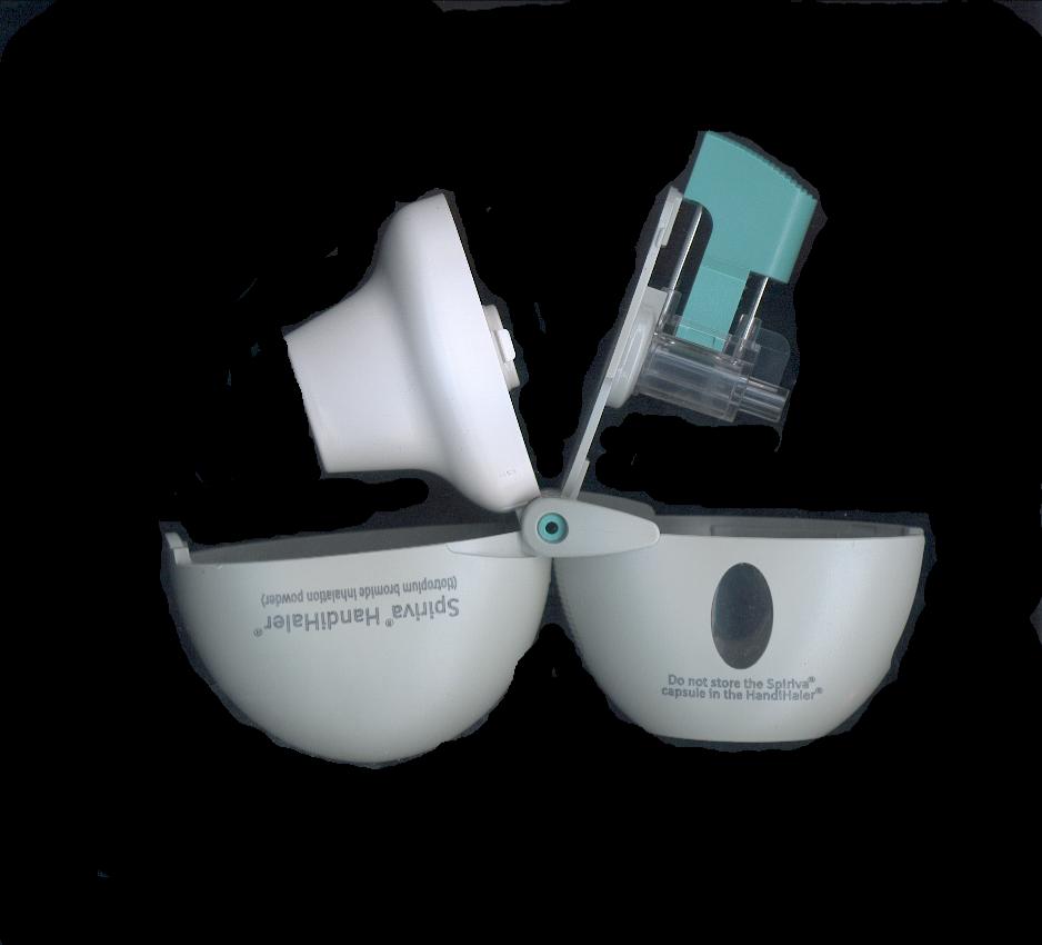 Photo of dry powder inhaler