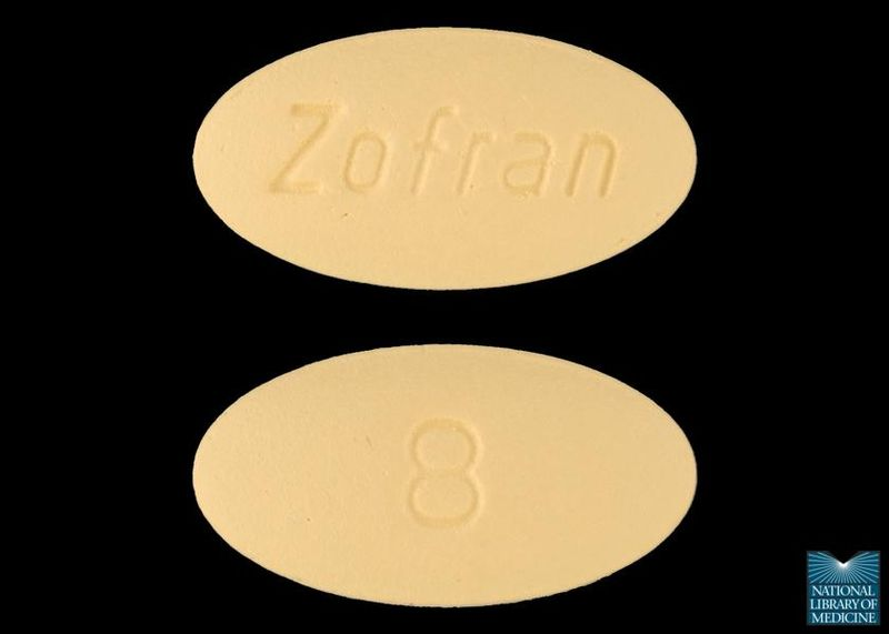 Photo of Zofran tablets