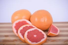 Photo of sliced grapefruit